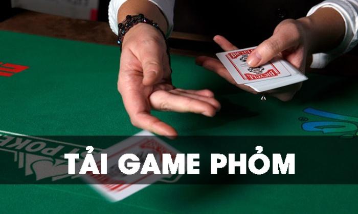 Cách tải game đánh bài phỏm