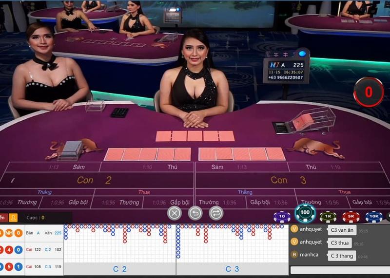 Các bước để tham gia chơi Live Casino tại các nhà cái